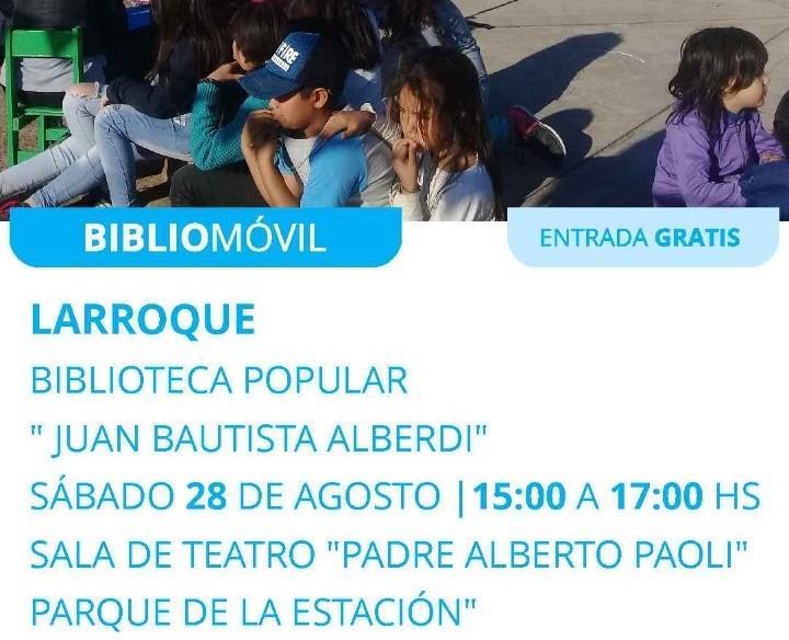 El bibliomóvil llega a nuestra ciudad